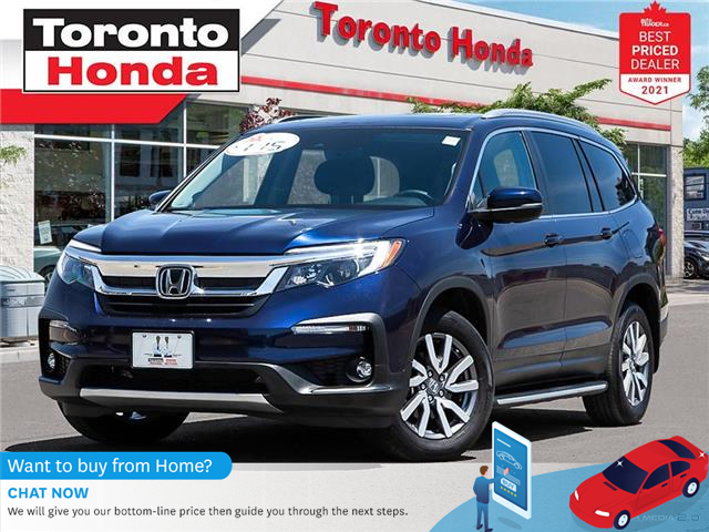 2020 Honda Pilot EX 7 Years/160,000KM Honda Certified Warranty (Stk: H41669T) in Toronto - Image 1 of 30