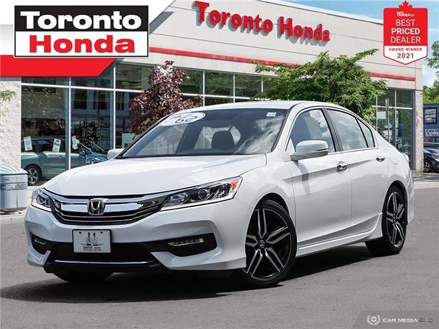2017 Honda Accord w/Honda Sensing (Stk: H41681T) in Toronto - Image 1 of 30