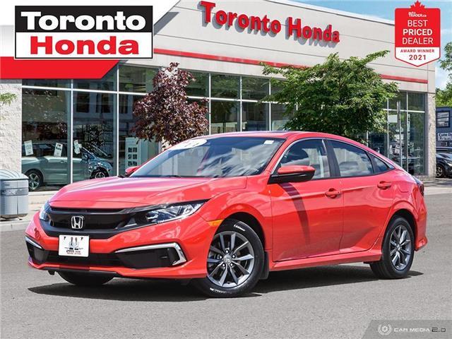 2020 Honda Civic EX 7 Years/160,000KM Honda Certified Warranty (Stk: H41676A) in Toronto - Image 1 of 30