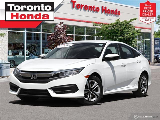 2016 Honda Civic LX (Stk: H41672A) in Toronto - Image 1 of 30