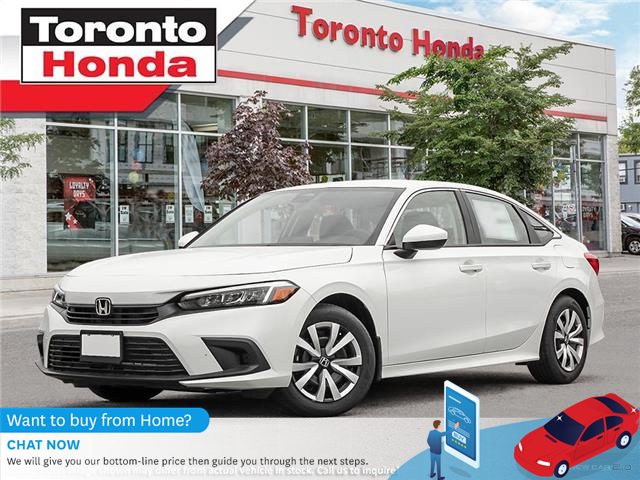 2022 Honda Civic Sedan LX CVT (Stk: 2200042) in Toronto - Image 1 of 23