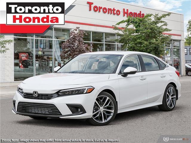 2022 Honda Civic Sedan Touring CVT (Stk: 2200035) in Toronto - Image 1 of 22