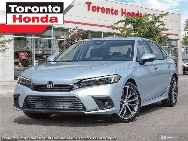 2022 Honda Civic Sedan Touring CVT (Stk: 2200063) in Toronto - Image 1 of 23