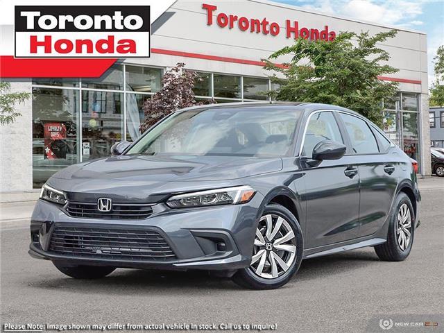 2022 Honda Civic Sedan LX CVT (Stk: 2200037) in Toronto - Image 1 of 23