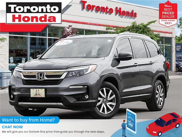 2019 Honda Pilot EX-L 7 Years/160,000KM Honda Certified Warranty (Stk: H41767A) in Toronto - Image 1 of 30