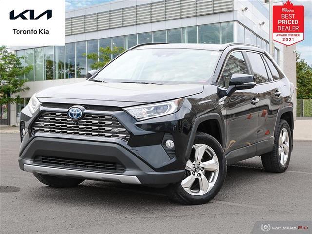 2019 Toyota RAV4 Hybrid Limited (Stk: K32350A) in Toronto - Image 1 of 30