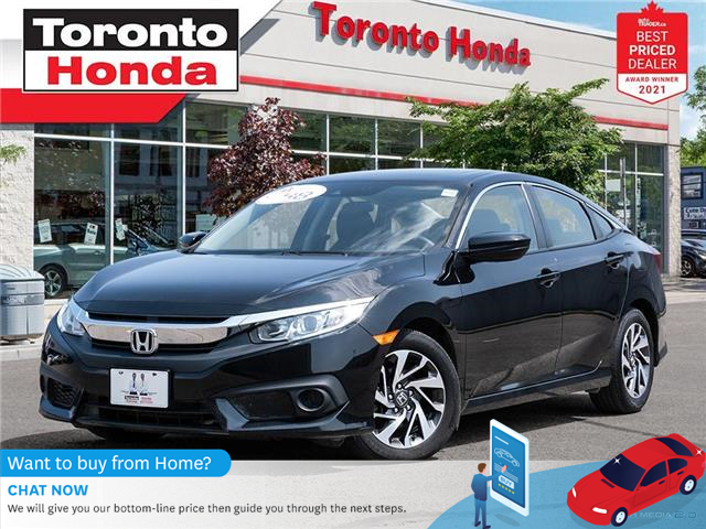 2017 Honda Civic EX (Stk: H41833A) in Toronto - Image 1 of 30