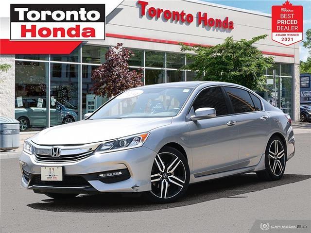 2017 Honda Accord Sport (Stk: H41826A) in Toronto - Image 1 of 30