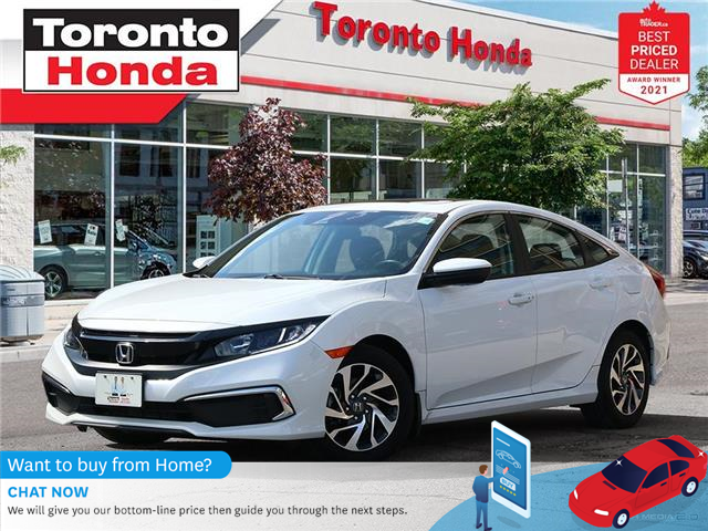 2020 Honda Civic EX 7 Years/160,000KM Honda Certified Warranty (Stk: H41994P) in Toronto - Image 1 of 30