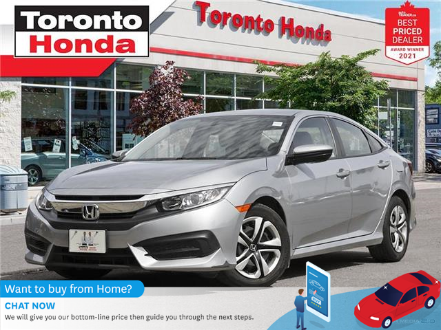 2017 Honda Civic LX (Stk: H42027T) in Toronto - Image 1 of 29
