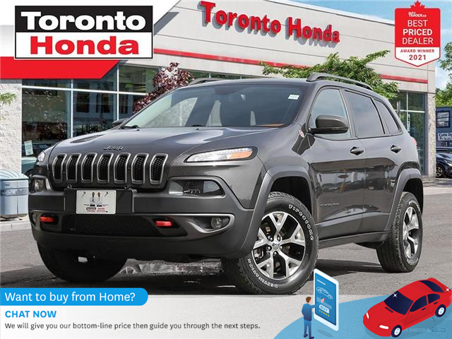 2017 Jeep Cherokee Trailhawk (Stk: H42031T) in Toronto - Image 1 of 30