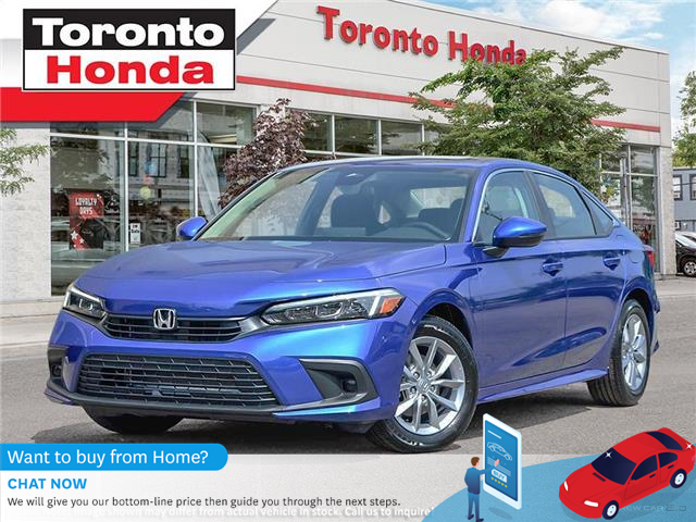 2022 Honda Civic EX (Stk: 2200316) in Toronto - Image 1 of 23
