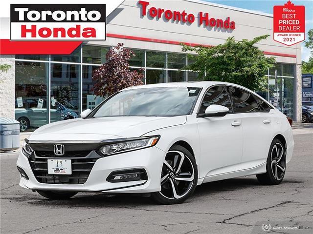 2019 Honda Accord Sport 7 Years/160,000KM Honda Certified Warranty (Stk: H43010A) in Toronto - Image 1 of 30