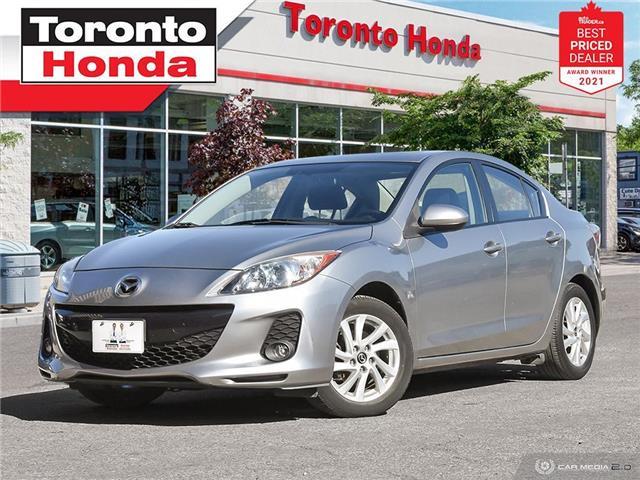 2013 Mazda Mazda3 Sport GS-Sky 6Sp MT (Stk: H43009T) in Toronto - Image 1 of 30