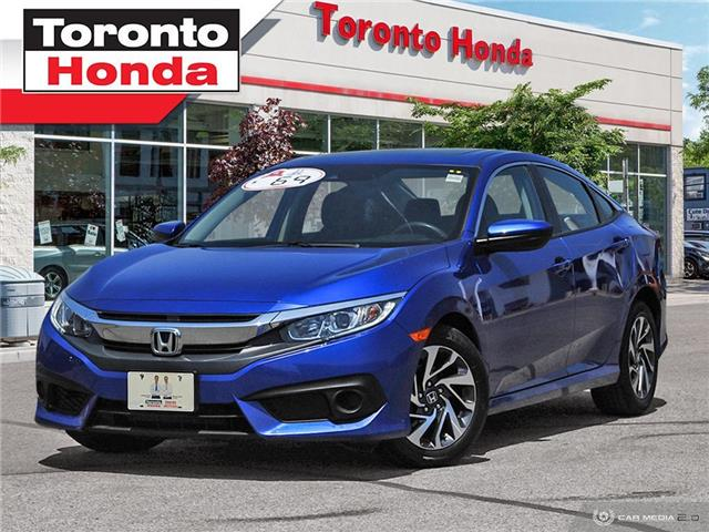 2018 Honda Civic Sedan EX w/Honda Sensing Low Interest Rate!!! (Stk: H40364A) in Toronto - Image 1 of 27