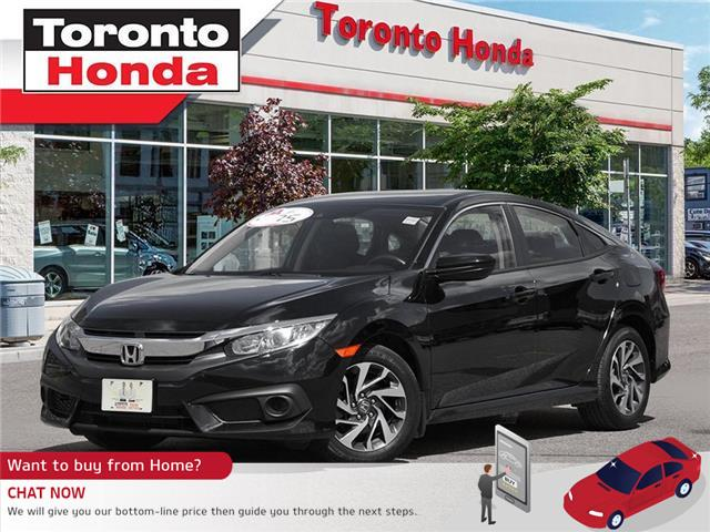 2018 Honda Civic Sedan SE w/Honda Sensing PUSH START (Stk: H40548T) in Toronto - Image 1 of 27