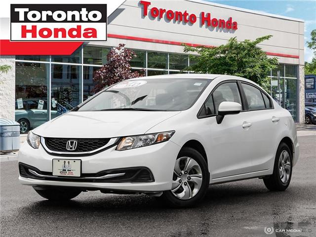 2015 Honda Civic Sedan LX LOW KM!!! (Stk: H40481A) in Toronto - Image 1 of 27