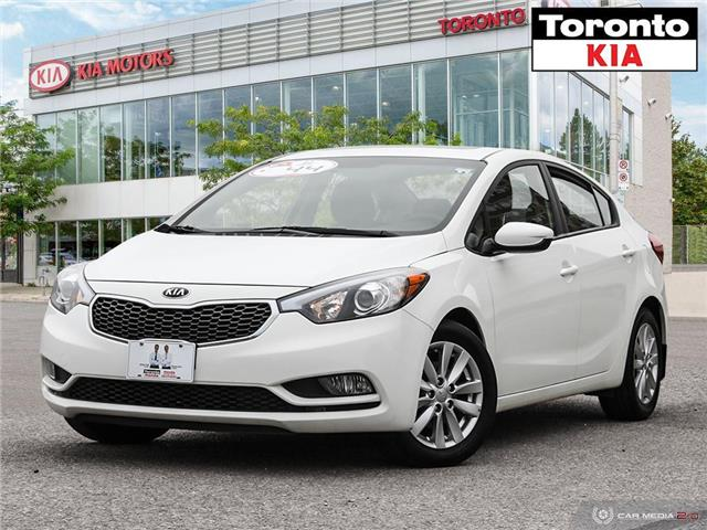 2016 Kia Forte Sunroof Kia Care (Stk: K32139A) in Toronto - Image 1 of 27
