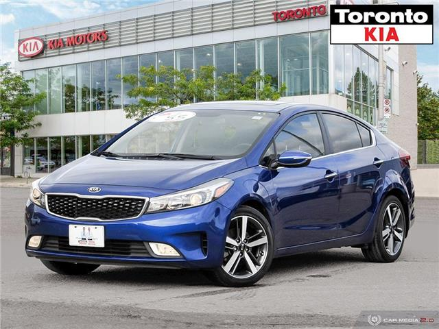 2018 Kia Forte EX Luxury Leather $500 Pre-Paid VISA-Black Friday (Stk: K32181T) in Toronto - Image 1 of 27