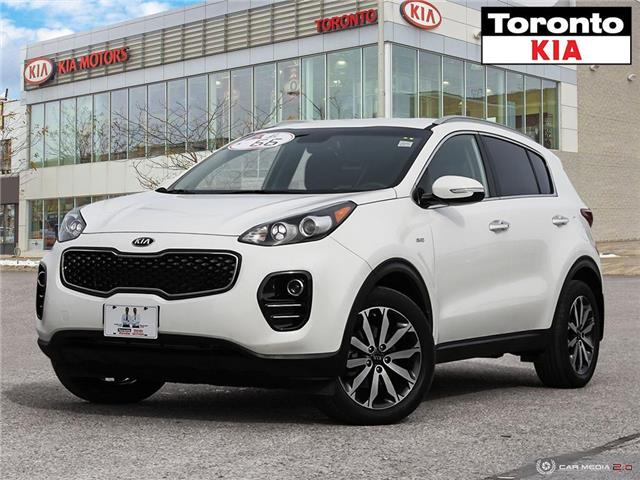 2017 Kia Sportage EX|APPLE CARPLAY|ANDRIOD AUTO|HEATED SEATS|CAMERA (Stk: K32173A) in Toronto - Image 1 of 27