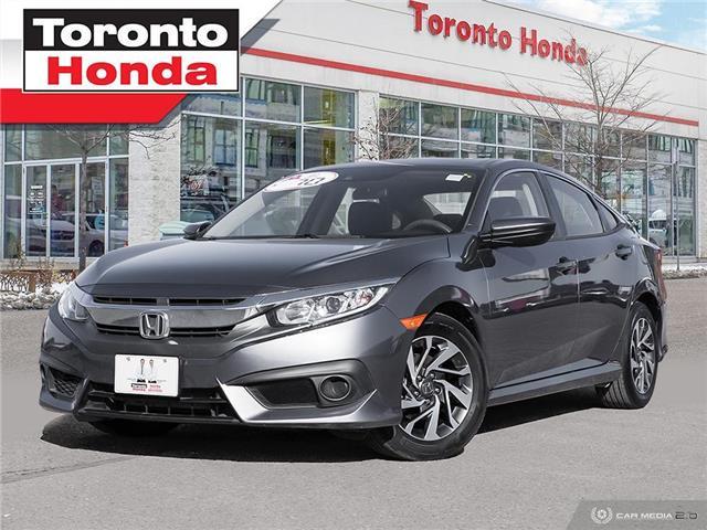 2018 Honda Civic Sedan EX, Honda Certified power train warranty till 2025 (Stk: H40896T) in Toronto - Image 1 of 28
