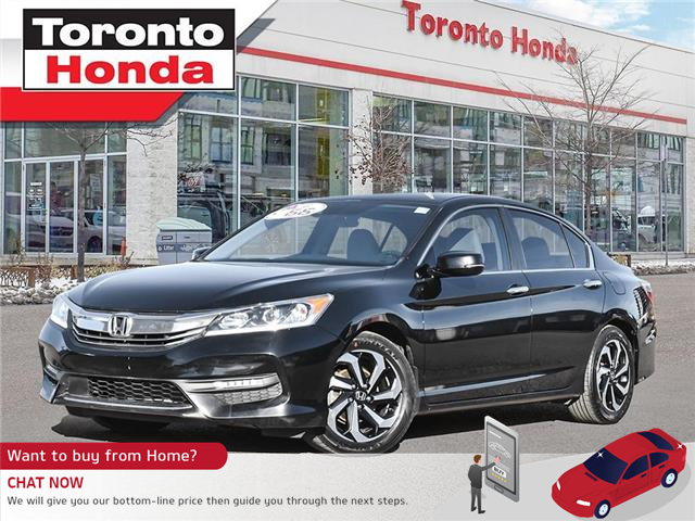 2017 Honda Accord Sedan SE (Stk: H40961A) in Toronto - Image 1 of 27