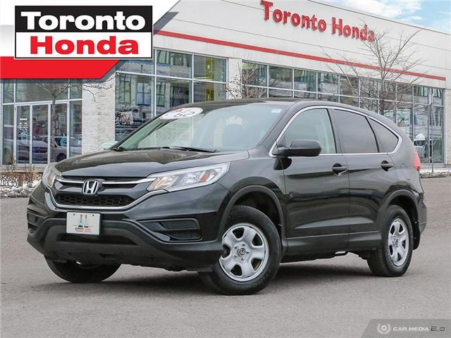2016 Honda CR-V LX (Stk: H41019A) in Toronto - Image 1 of 27