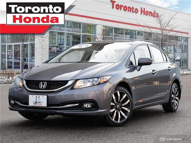2015 Honda Civic Sedan Touring|Leather|Roof|GPS|Alloy|Heated Seats (Stk: H40779A) in Toronto - Image 1 of 27