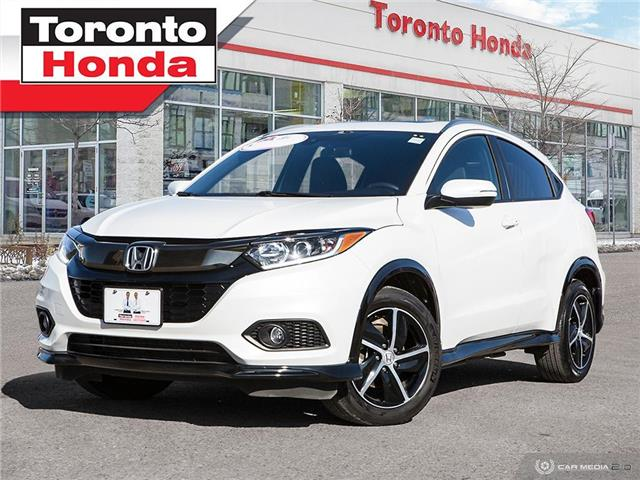 2019 Honda HR-V SPORT|7YRS 160000KM POWER TRAIN WARRANTY|ONE OWNER (Stk: H40906T) in Toronto - Image 1 of 27