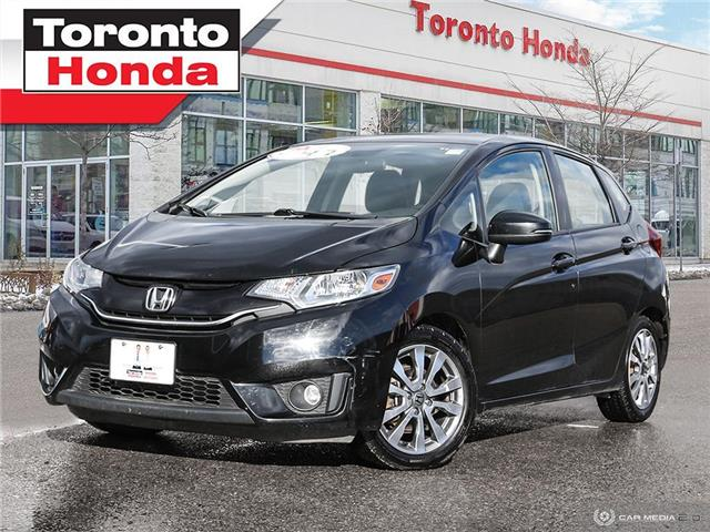 2015 Honda Fit LEATHER-ROOF-GPS-CLEAN CARFAX-MANUAL (Stk: H40851P) in Toronto - Image 1 of 27