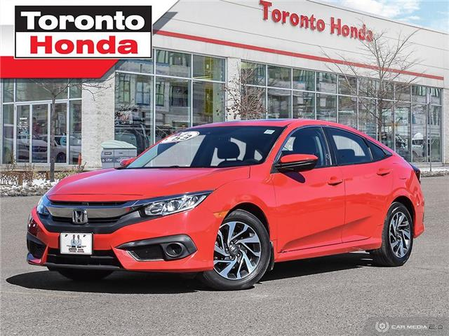2017 Honda Civic Sedan EX|Roof|Engine Starter|Alloy|Apple CarPlay™ (Stk: H40862P) in Toronto - Image 1 of 27