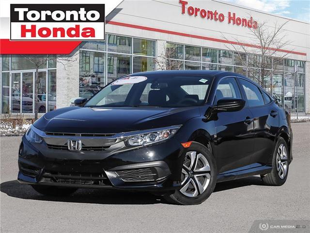 2016 Honda Civic Sedan LX (Stk: H40990T) in Toronto - Image 1 of 27
