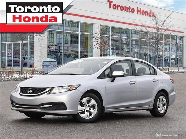 2015 Honda Civic Sedan LX (Stk: H41009A) in Toronto - Image 1 of 27