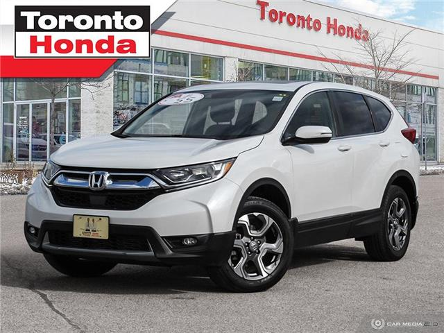 2019 Honda CR-V EX-L|No Accident|Leather|Roof|Blind Spot Camera (Stk: H40820T) in Toronto - Image 1 of 28