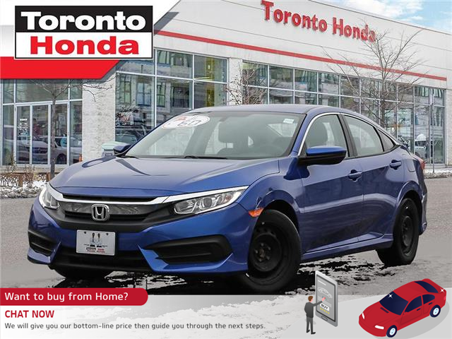 2018 Honda Civic Sedan LX|No Accident|Heated Seats|Apple Carplay (Stk: H41078T) in Toronto - Image 1 of 27