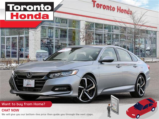2018 Honda Accord Sedan Sport (Stk: H41098T) in Toronto - Image 1 of 30