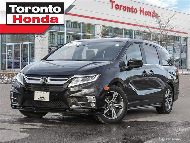 2018 Honda Odyssey EX-L|DVD|Leater|Engine Starter (Stk: H41145P) in Toronto - Image 1 of 27