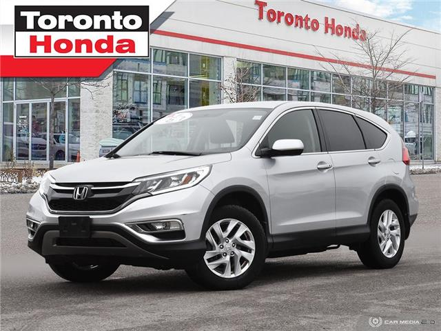 2016 Honda CR-V SE|Heated Seats|Rear Camera|No accident| (Stk: H41161T) in Toronto - Image 1 of 27