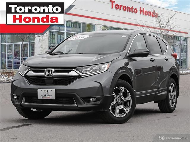 2019 Honda CR-V EX-L|HONDA CERTIFIED|NO ACCIDENT|LEATHER|ROOF (Stk: H41186T) in Toronto - Image 1 of 26