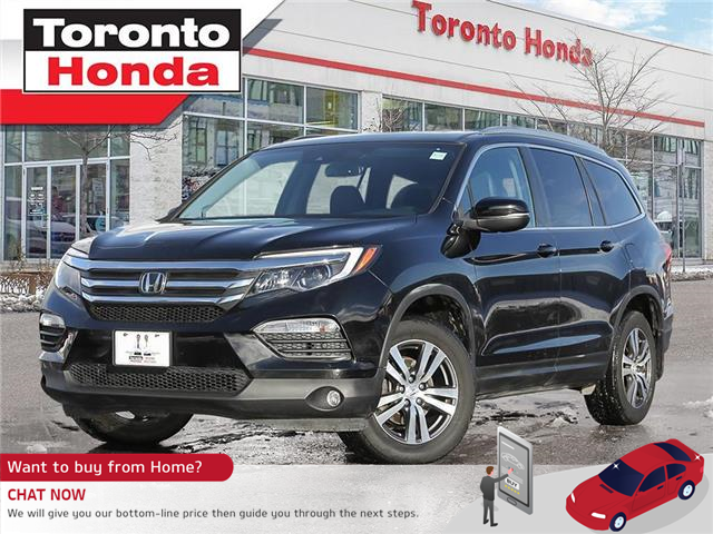 2017 Honda Pilot EX-L|Leather|Roof|Engine remote Starter (Stk: H41201T) in Toronto - Image 1 of 27