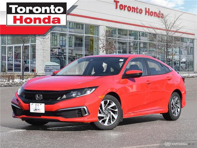 2019 Honda Civic Sedan EX  7 Years/160,000KM Honda Certified Warranty (Stk: H41206T) in Toronto - Image 1 of 30