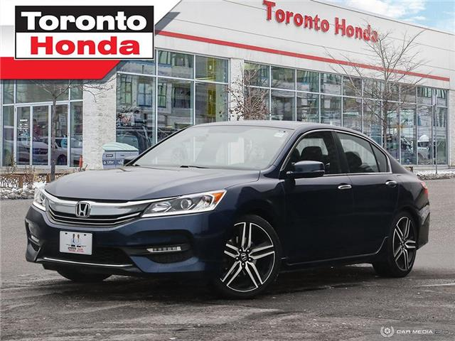 2016 Honda Accord Sedan Sport|Clean Carfax|Engine remote starter (Stk: H41241P) in Toronto - Image 1 of 27