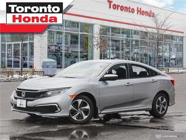 2019 Honda Civic Sedan LX|One Owner|CLEAN CARFAX|Apply Carplay|Heated Sea (Stk: H40928A) in Toronto - Image 1 of 27