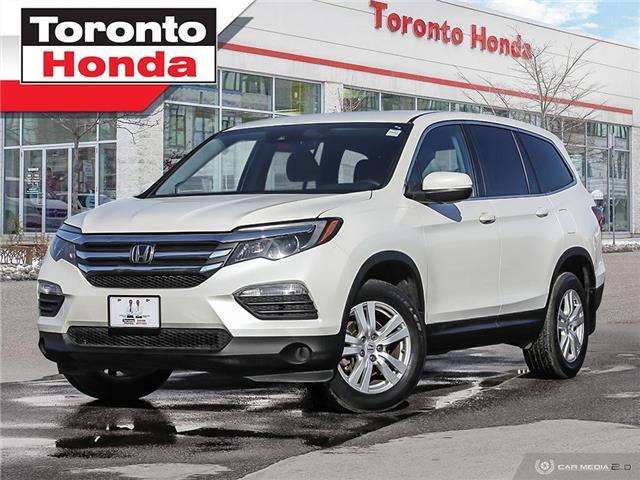 2016 Honda Pilot LX  with Honda Sensing (Stk: H41298T) in Toronto - Image 1 of 29