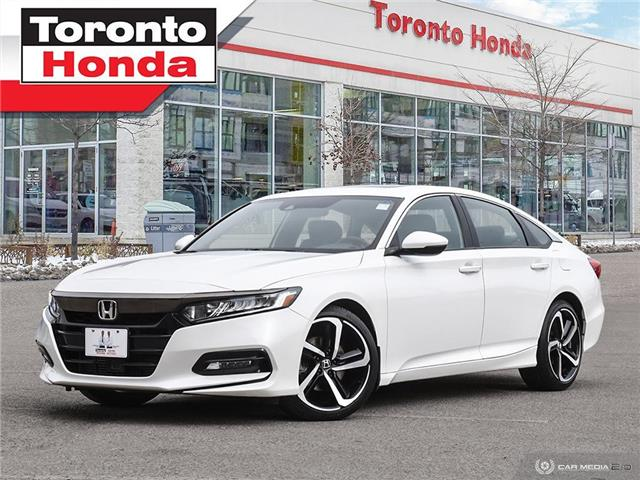 2018 Honda Accord Sedan Sport | Honda Sensing (Stk: H41312P) in Toronto - Image 1 of 30