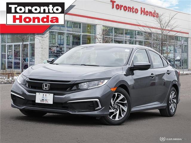 2019 Honda Civic Sedan EX 7 Years/160,000km Honda Certified Warranty (Stk: H41309P) in Toronto - Image 1 of 30