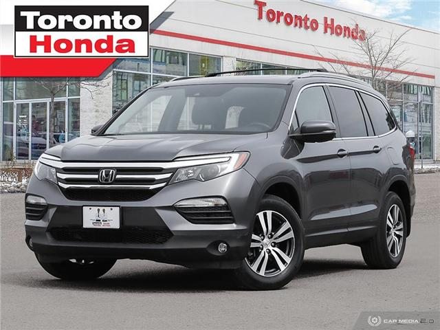 2018 Honda Pilot EX-L w/Rear Entertainment System | 7 YEARS OR 160, (Stk: H41253T) in Toronto - Image 1 of 30
