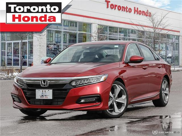 2019 Honda Accord Sedan Touring 2.0T| 7 Years or 160,000KM Honda Certified (Stk: H41265T) in Toronto - Image 1 of 30