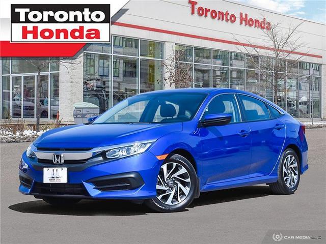 2016 Honda Civic Sedan EX (Stk: H41386T) in Toronto - Image 1 of 30