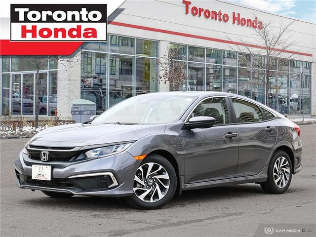 2019 Honda Civic Sedan EX 7 Years/160,000km Honda Certified Warranty (Stk: H41354T) in Toronto - Image 1 of 30